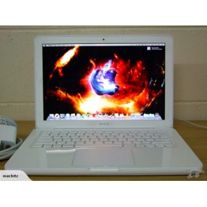 "White Macbook Unibody 13"" 2.4Ghz CD2/4GB/250GB"
