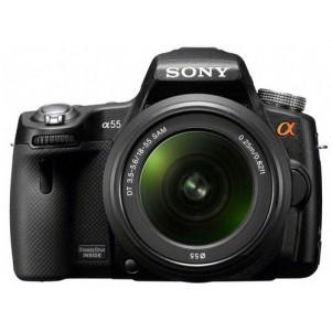 Digital SLR 16.2 Mega Pixel Single Lens Kit - SLT -  A55VL