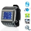 Q8-Dual - Quad Band Dual Sim Mobile Phone Watch + Keypad