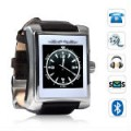 M100 Premium Mobile Phone Dress Watch - Leather Strap