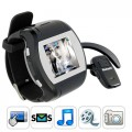M91 Quad band mobile phone watch with touchscreen